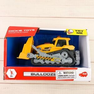 Dickie Toys Construction Bulldozer Toy